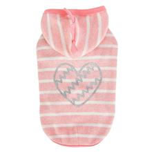 Mamours Dog Hoodie by Pinkaholic - Indian Pink