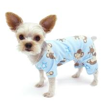 Monkey Dog Pajamas by Dogo - Blue