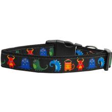 Monsters Dog Collar - Black