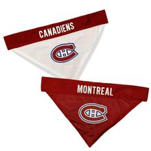 Montreal Canadians Reversible Dog Bandana Collar Slider