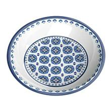 Moroccan Blue Cat Saucer by TarHong - Indigo