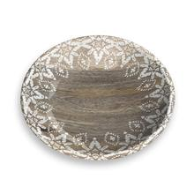 Moroccan Wood Pet Saucer by TarHong