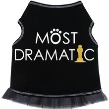 Most Dramatic Tank Dog Dress - Black