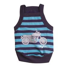 Motor Pup Dog Tank - Blue