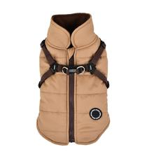 Mountaineer II Fleece Dog Vest by Puppia - Beige