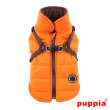 Mountaineer II Fleece Dog Vest by Puppia - Orange