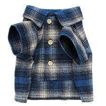 Mountaineer Flannel Dog Shirt by Dog Threads