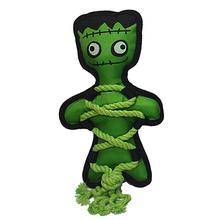 Multipet Cross Rope Frankenstein Dog Toy