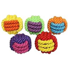MultiPet Nuts for Knots Rubber Ball Dog Toy