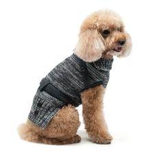 Multiway Turtle Neck Dog Sweater by Dogo - Black