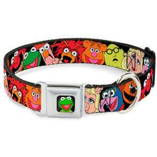 Muppets Faces Seatbelt Buckle Dog Collar by Buckle-Down