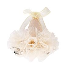 Muse Party Hat Dog Bow By Pinkaholic - Ivory
