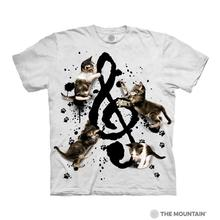 Music Kittens Human T-Shirt by The Mountain
