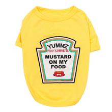 Mustard Licker Dog Costume Shirt