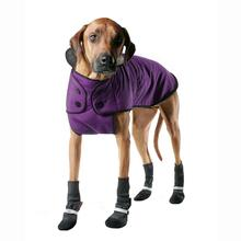 Muttluks Belted Dog Coat - Purple