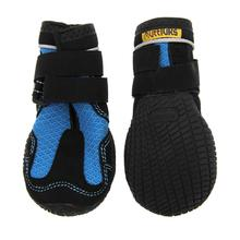 Muttluks Mud Monster Dog Boots - Blue with Black Trim - Set of Two