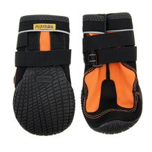 Muttluks Snow Mushers Dog Boots - Orange with Black Trim - Set of Two