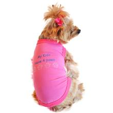 My Kids Have 4 Paws Designer Dog Tank by Doggie Design