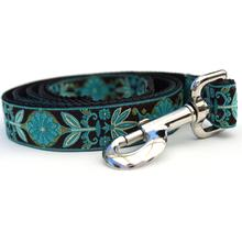 Boho Peacock Dog Leash by Diva Dog