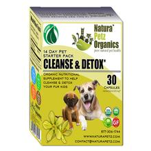 Natura Petz Organics Cleanse & Detox Starter Pack for Dogs