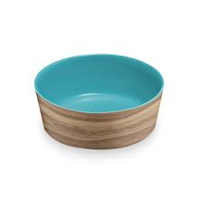Natural Acacia Dog Bowl by TarHong - Capri