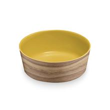 Natural Acacia Dog Bowl by TarHong - Solar