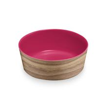 Natural Acacia Dog Bowl by TarHong - Azalea