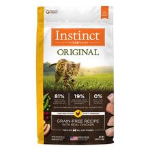 Nature's Variety Instinct Original Grain-Free Recipe Cat Food - Real Chicken