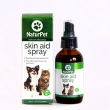 NaturPet Skin Aid Spray Supplement for Dogs and Cats