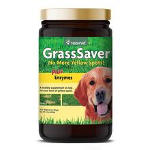 NaturVet GrassSaver Wafers For Dogs Plus Enzymes