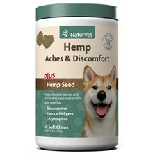 NaturVet Hemp Aches & Discomfort Soft Dog Chews