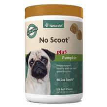 NaturVet No Scoot Soft Dog Chew Plus Pumpkin