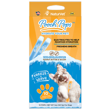 NaturVet Pooch Pops Hydrating Dog Treat with Electrolytes