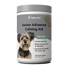 NaturVet Senior Advanced Calming Aid Soft Chew Dog Supplement