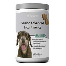 NaturVet Senior Advanced Incontinence Soft Chew Dog Supplement