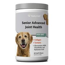 NaturVet Senior Advanced Joint Health Soft Chew Dog Supplement