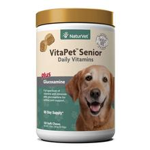 NaturVet Vita Pet Senior Plus Glucosamine Soft Dog Chew