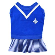 Naunet Marine Dog Dress by Puppia - Blue