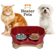 Neater Feeder Deluxe Mess-Proof Pet Diner - Cranberry