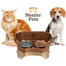 Neater Feeder Deluxe Mess-Proof Pet Diner - Bronze