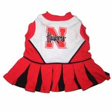 Nebraska Cheerleader Dog Dress