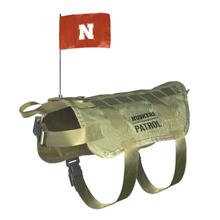 Nebraska Huskers Tactical Vest Dog Harness