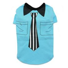 Necktie Dog T-Shirt by Dogo