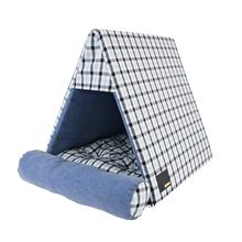 Neil House Dog Bed by Puppia Life - Navy