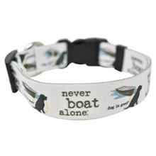 Never Boat Alone Dog Collar and Leash Collection by Dog is Good