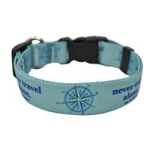 Never Travel Alone Dog Collar and Leash Collection by Dog is Good