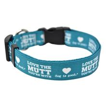 Love the Mutt You're With Dog Collar and Leash Collection by Dog is Good