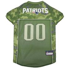 New England Patriots Dog Jersey - Camo