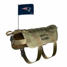 New England Patriots Tactical Vest Dog Harness