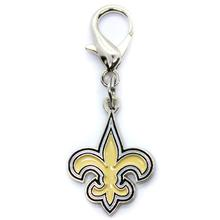 New Orleans Saints Logo Dog Collar Charm